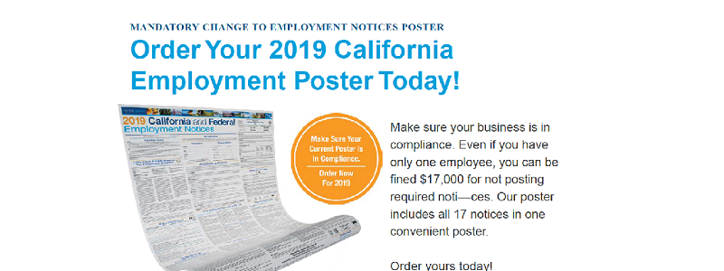 2019 Employment Posters