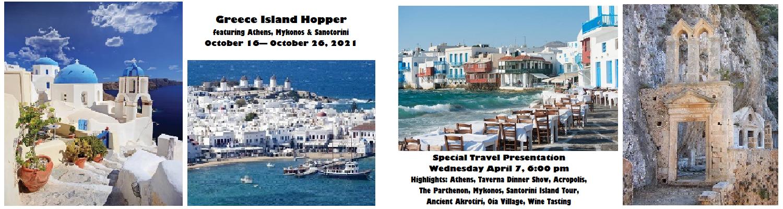 Greece Island Hopper Special Travel Presentation