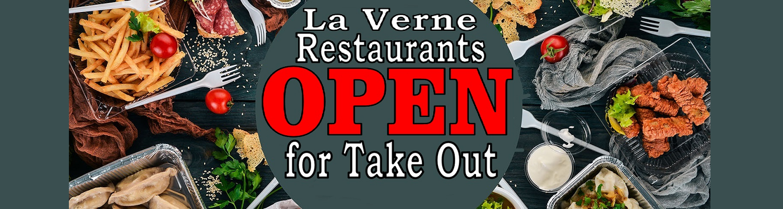 La Verne Restaurants Open for Take Out